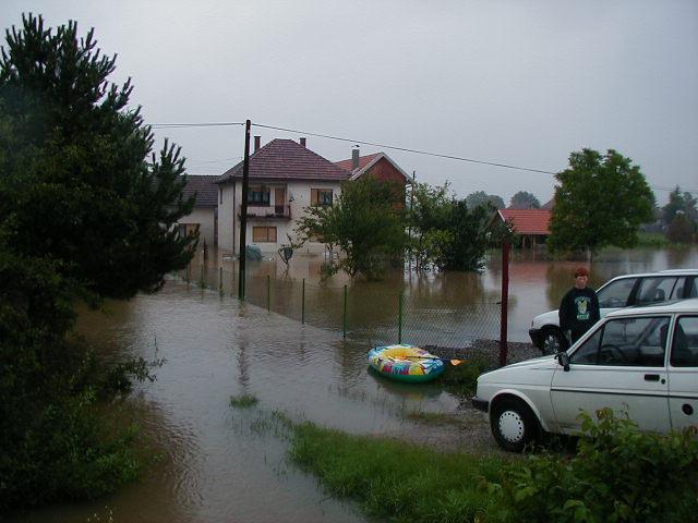 Civilna zaštita u akciji spašavanja 20.06.2001