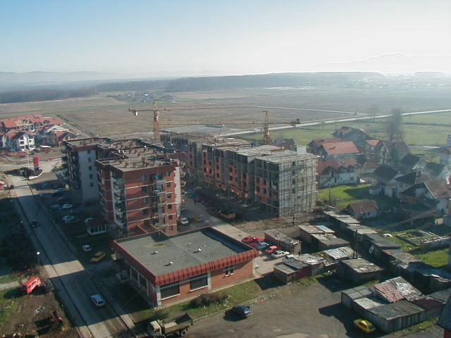 Pogled sa munare  prema Novom Gradu 30.11.2000