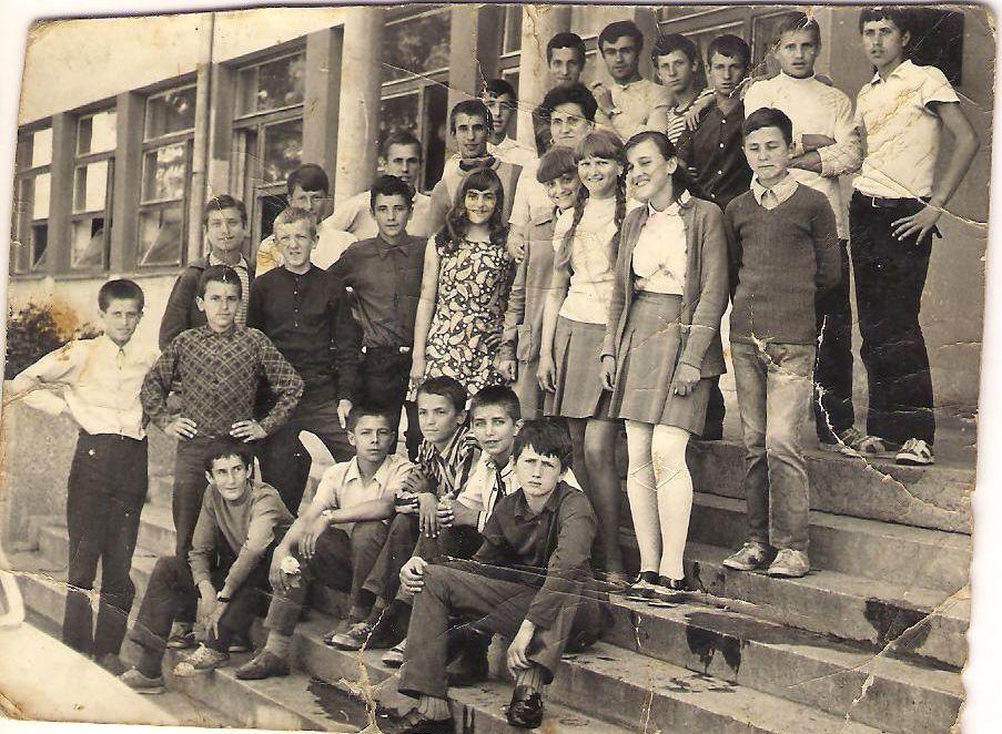 Ucenici O.S. Rade Marjanac Djurdjevik 1970-tih
