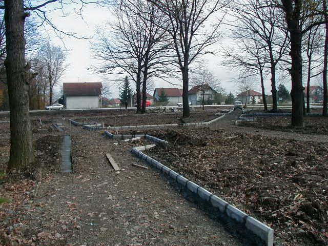 Uređenje gradskog parka 09.11.2002