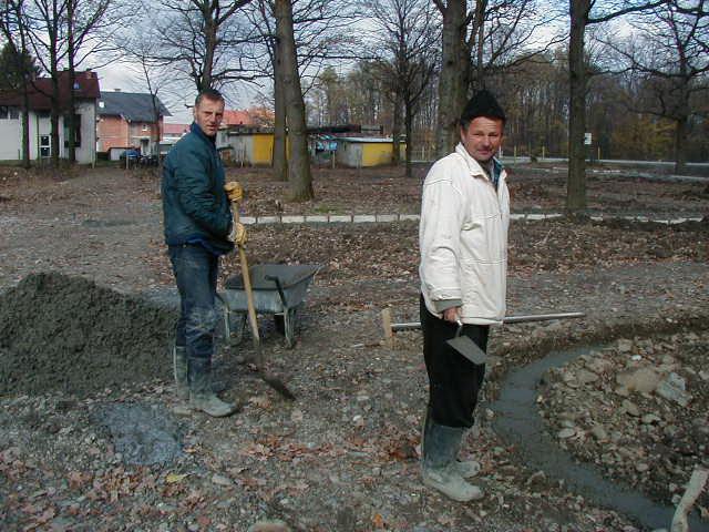 Uređenje gradskog parka Muhamed Salihović