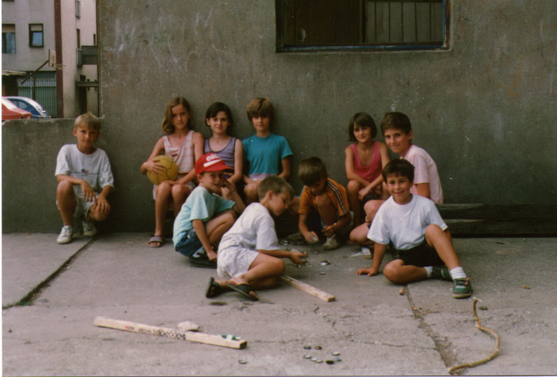 Djeca iz ulice Oslobođenja ratne 1993.godine