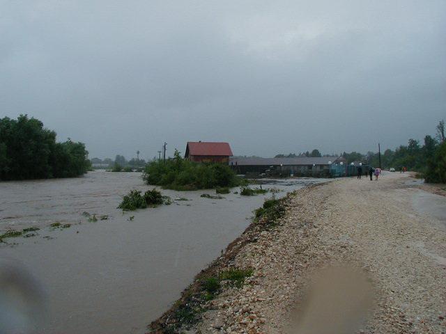 Poplava 20.06.2001 Put za Suhu